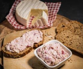Camembert-Preiselbeer-Aufstrich