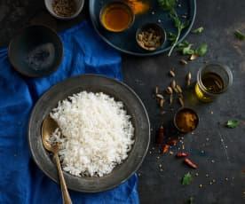 Cottura del riso basmati