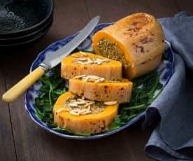 Savoury stuffed pumpkin