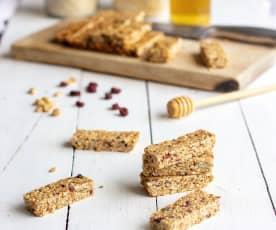 Barres de céréales au quinoa