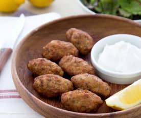 Griechische Fleischbällchen (Köfte)