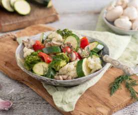 Warzywa gotowane na parze (w stacji Thermomix Friend®)