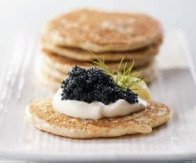 Blinis - Buckwheat Pancakes