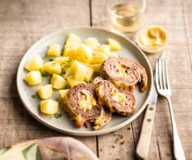 Rocambole de carne (Roulé de bœuf haché)