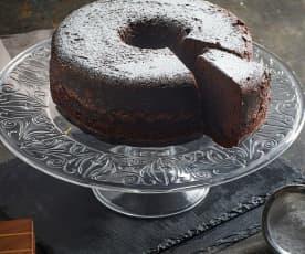 Chiffon cake al cioccolato a Varoma (senza lattosio)