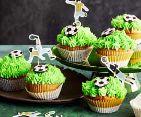 Fußball-Cupcakes