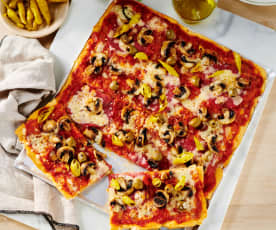 Blitz-Pizza