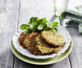 Reis-Zucchini-Puffer