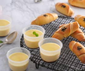 布利麵包&黑糖蒸布丁