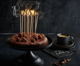 Gâteau intensément chocolat (sans gluten)