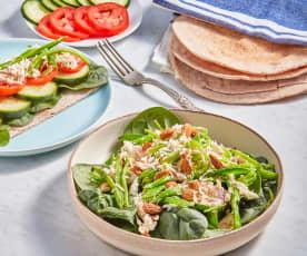 Sugar Snap Pea and Chicken Salad