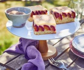 Zwetschgen-Schmand-Kuchen