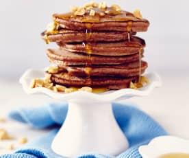 Erdnuss-Pancakes