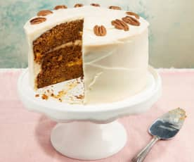Apricot and Caramel Carrot Cake