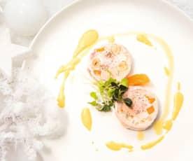 Galantine de pintade foie gras noisette