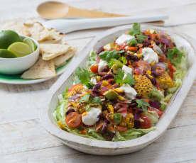 Chipotle bean and corn salad