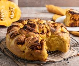 Dyniowy chlebek do odrywania (bez laktozy)