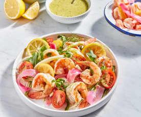 Sicilian Shrimp Salad
