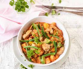 Gemüse-Filet-Topf