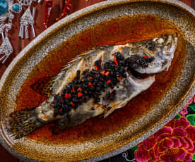 豉辣蒸鳜鱼