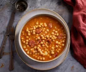 Chickpea Stew with Vegetables