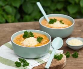 Zupa gyros z kurczakiem