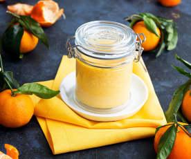 Curd de mandarinas
