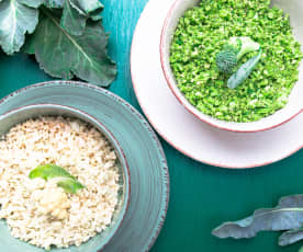 Broccoli or Cauliflower Rice