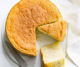 Gâteau nuage à la vanille