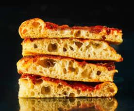 Pizza romana (di Gabriele Bonci)