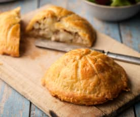 Cauliflower Pithivier in Gluten-free Cheddar Puff Pastry