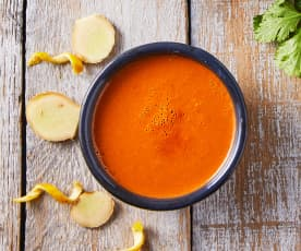 Aderezo de jengibre y naranja