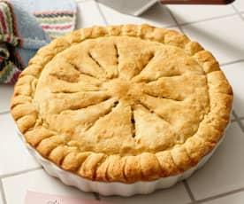 Lauwarmer Apfelkuchen (American Pie)