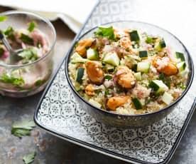 Salade de quinoa aux moules