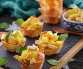 水果咖哩雞沙拉