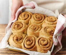 Petits pains roulés au zaatar
