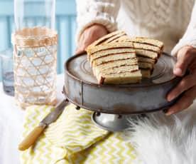 Vinarterta (gâteau islandais aux pruneaux)