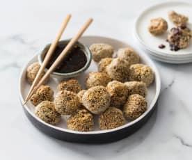 Gyoza meatballs