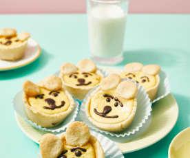Honigbären-Muffins