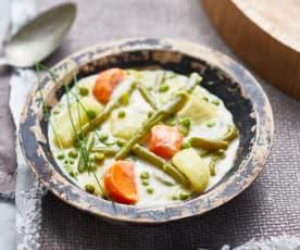 Blanquette aux légumes