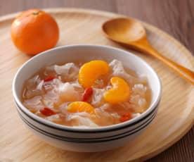 銀耳蜜柑湯