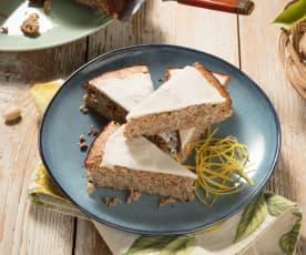 Citrónovo-makový koláč (bezlepkový)
