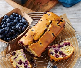 Heidelbeer-Joghurt-Kastenkuchen
