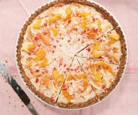 Vegan Pineapple Coconut Tart