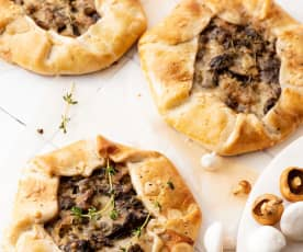 Mini champignon pasteitjes