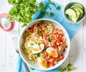 Balsamico-Weizen-Salat