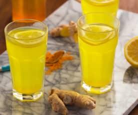 Infuso zenzero, limone e curcuma