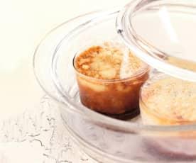 Gâteaux de semoule aux raisins