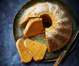 Gâteau à la patate douce, à l'orange et aux épices