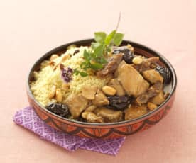 Chicken Tagine with Prunes, Figs and Honey